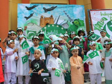 Independence day of Pakistan celebration