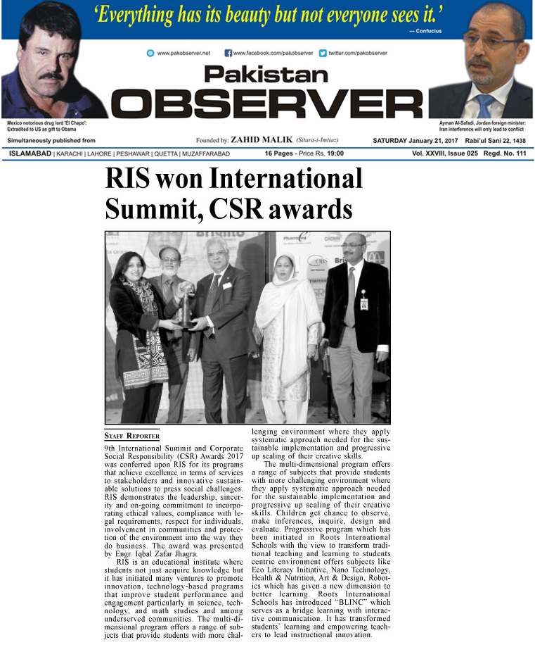 RIS CSR Awards