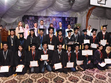 High Achievers Ceremony At Muzaffarabad  Campus