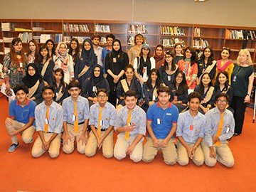 RIS students visit the U.S Embassy, Islamabad