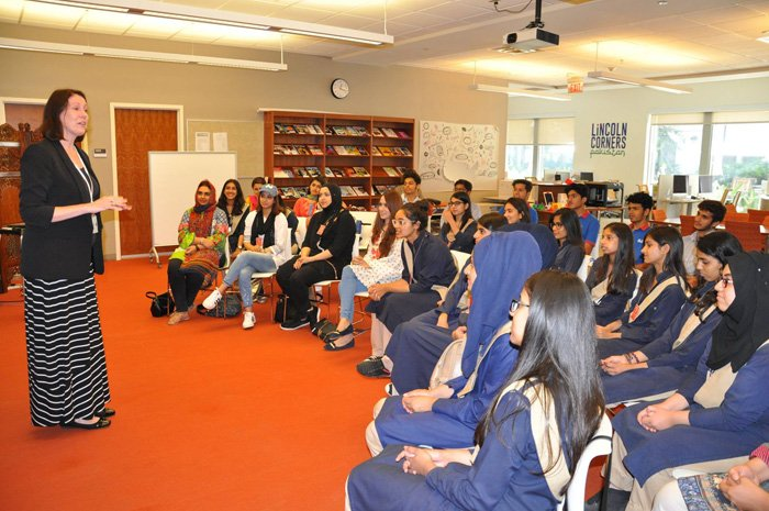 RIS students visit the U S Embassy, Islamabad | Roots