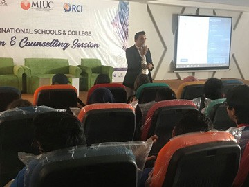 Minerva Schools at KGI Counselling Session at RIS