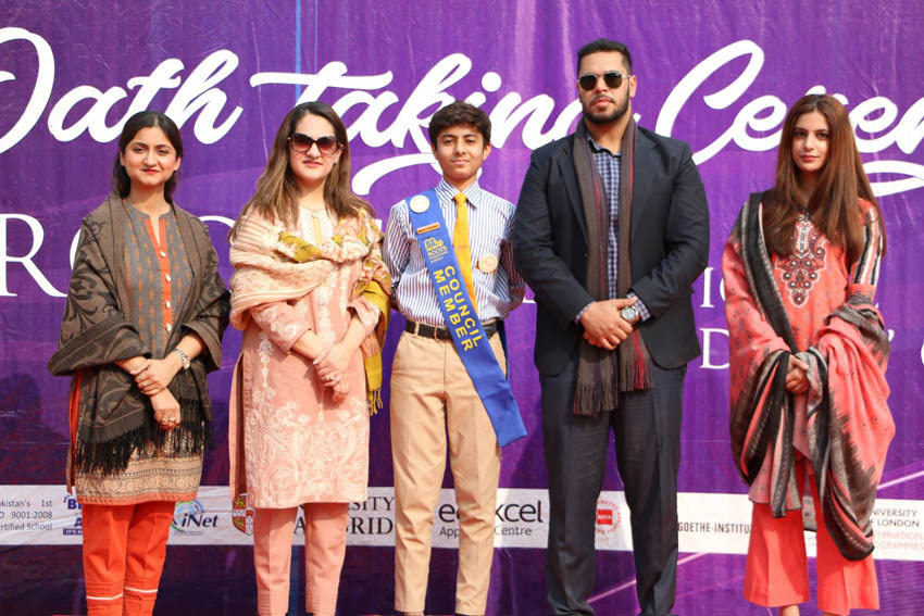 Student Council Oath Taking Ceremony Gandhara Campus