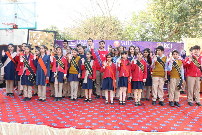 Student Council Oath Taking Ceremony Richmond Campus