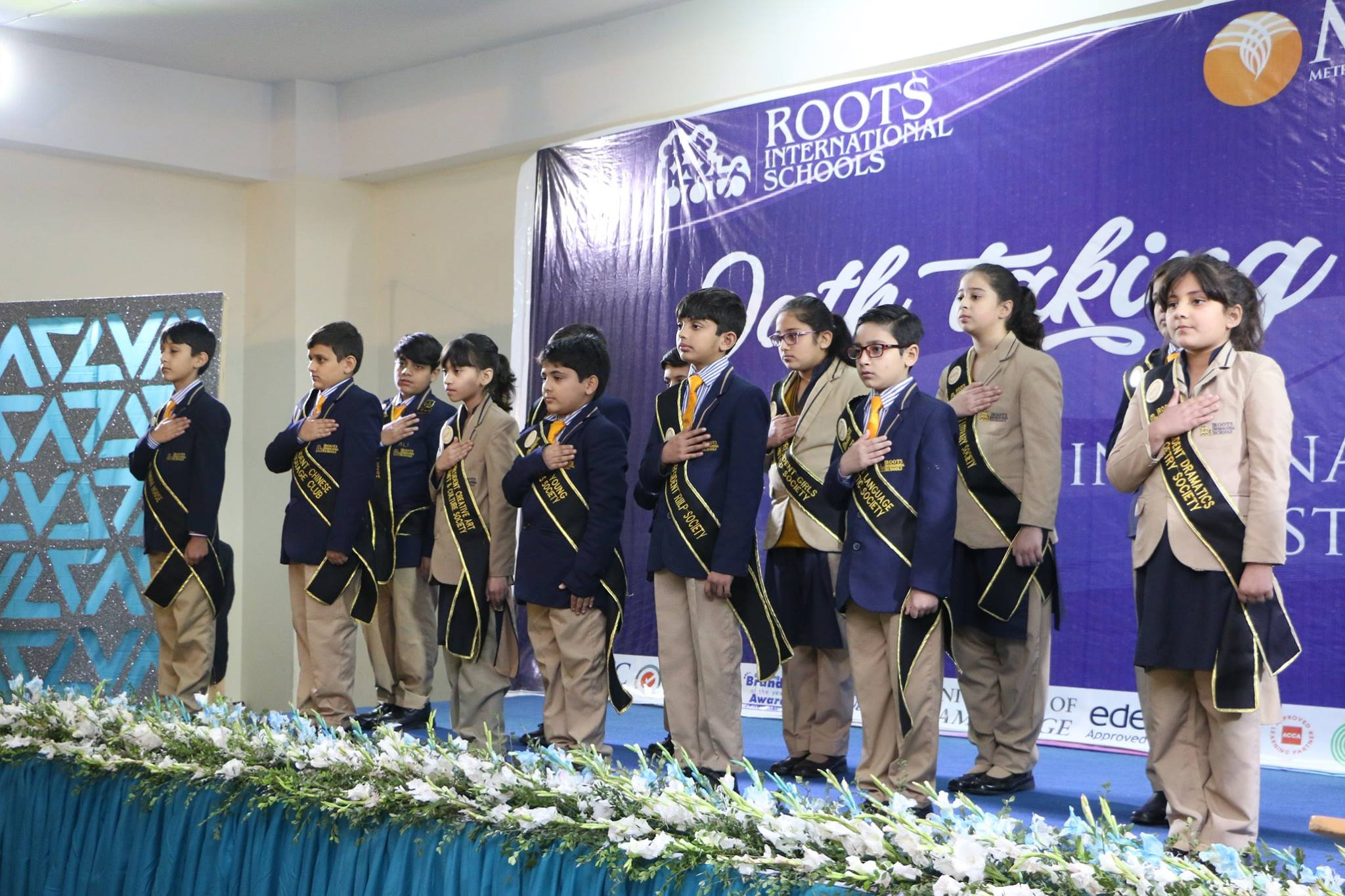 Student Council Oath Taking Ceremony Rawal Campus