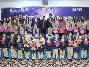 Oath Taking Ceremony at Rawal Campus