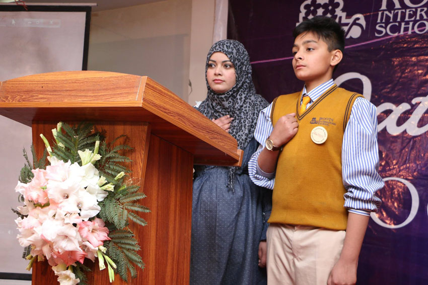 Student Council Oath Taking Ceremony Winchester Campus