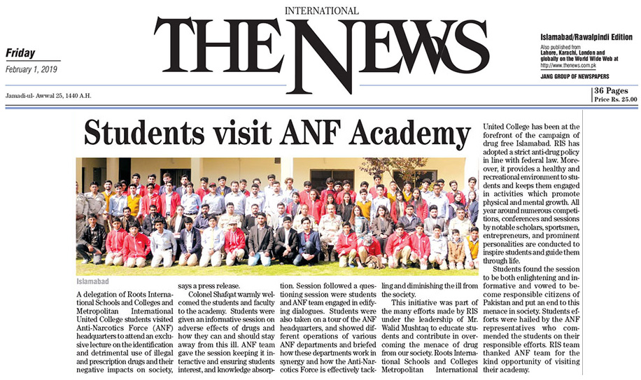 Students Visit ANF Academy