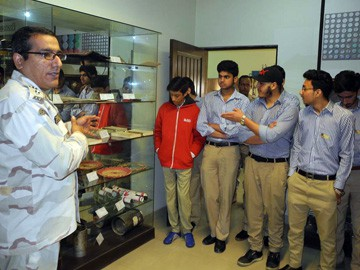 RIS visit Anti Narcotics Force Academy