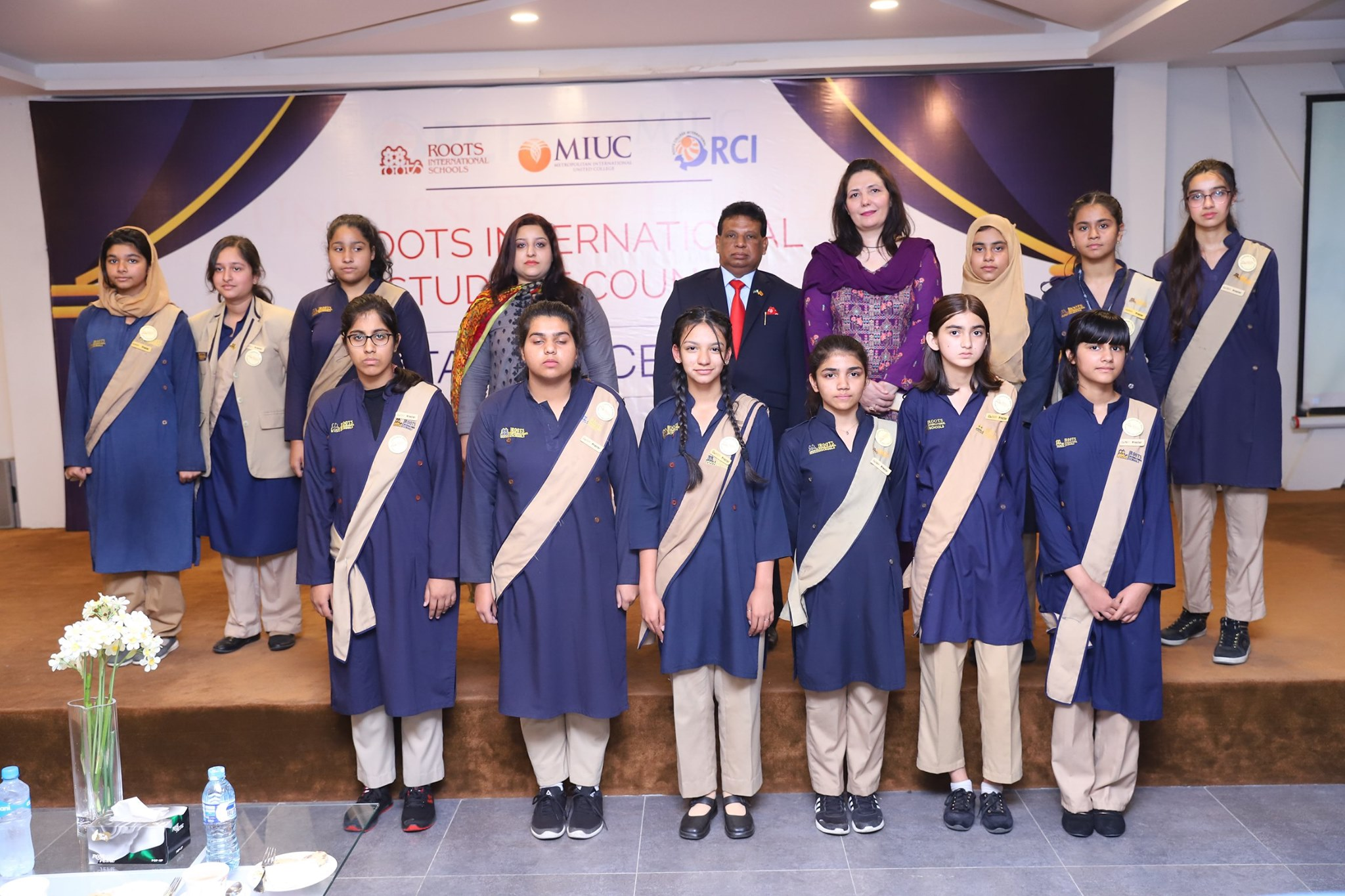 Student Council Oath Taking Ceremony Wellington Campus