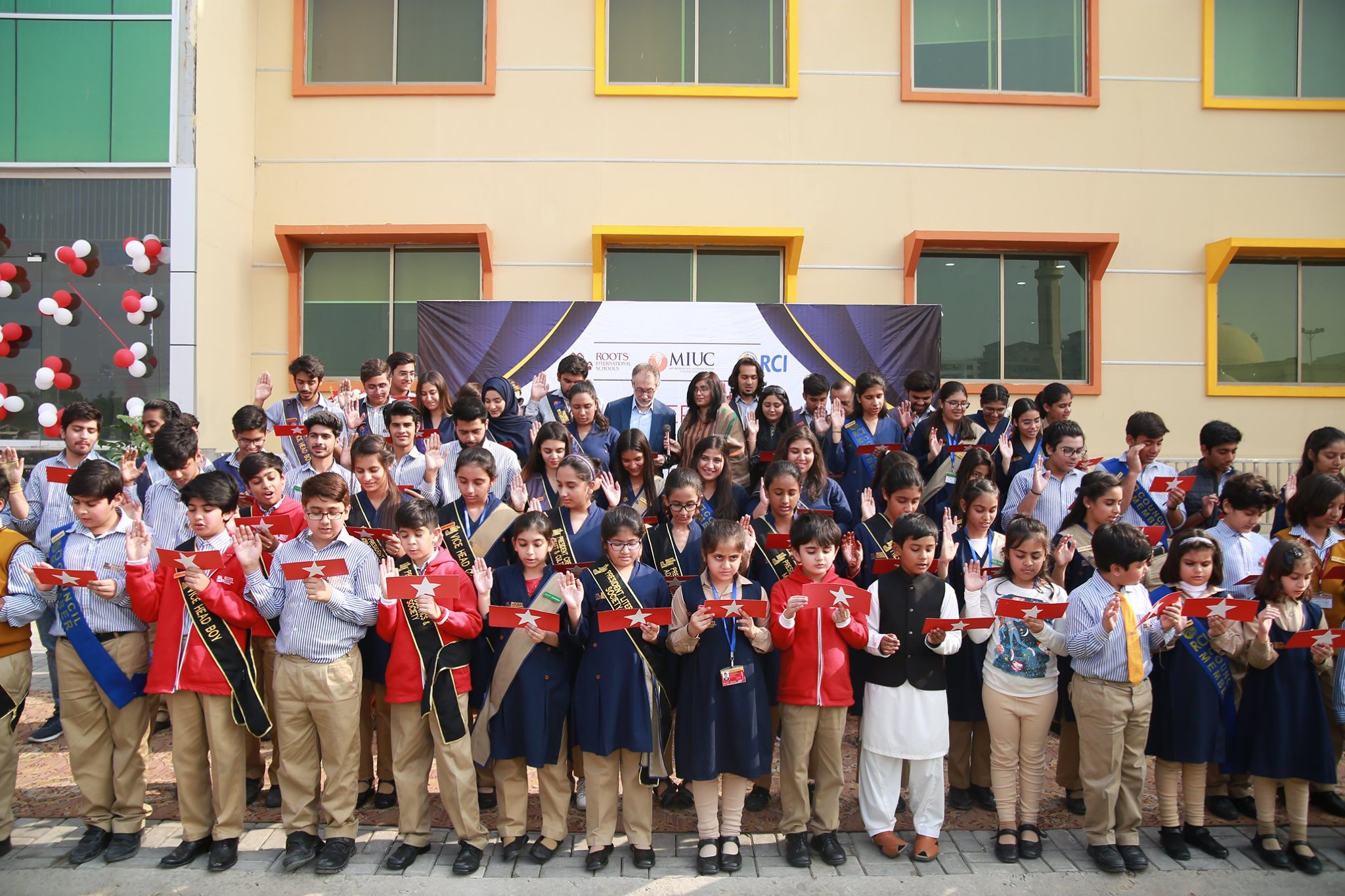 Student Council Oath Taking Ceremony Askari Campus