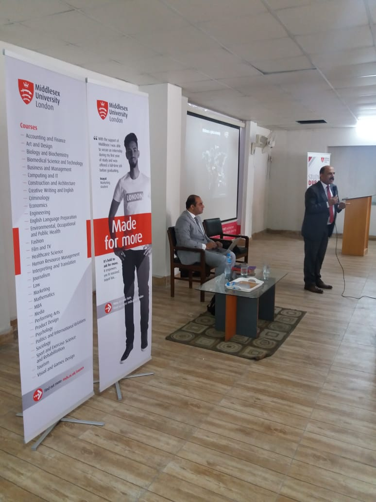 Middlesex University Outreach Sessions in RISC Campuses