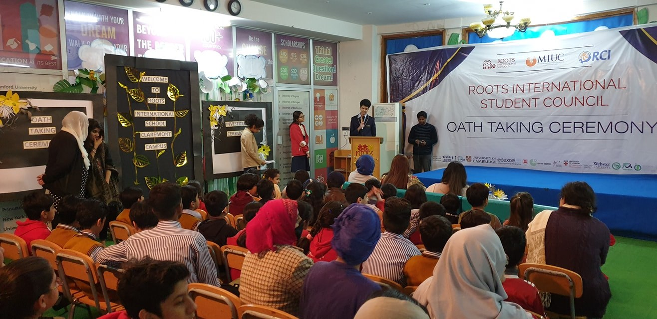 Student Council Oath Taking Ceremony Westridge Campus